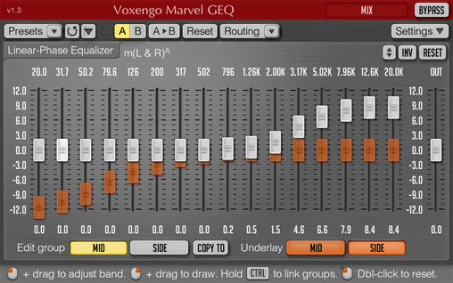 Best Free Equalizer EQ VST / AU Plugins on Internet
