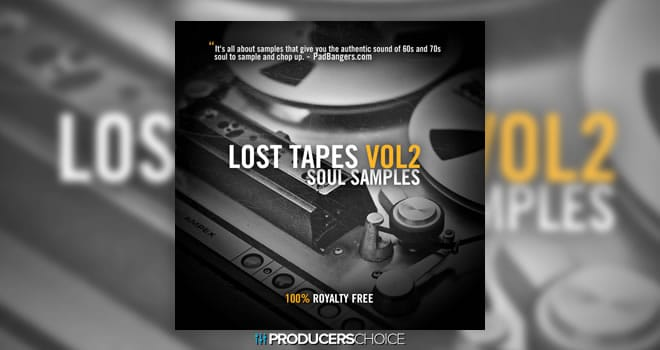 Lost Tapes Vol 2: Soul Samples Pack by The Producers Choice