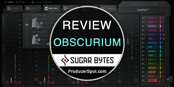 Review Obscurium Synth Plugin by Sugar Bytes