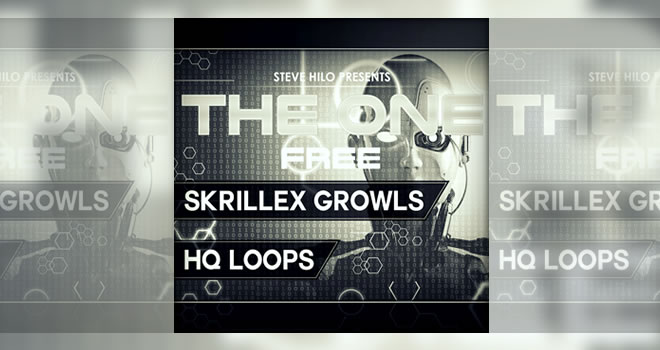 THE ONE: Skrillex Growls Free Sample Pack