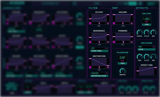 The Riser Synth Plugin