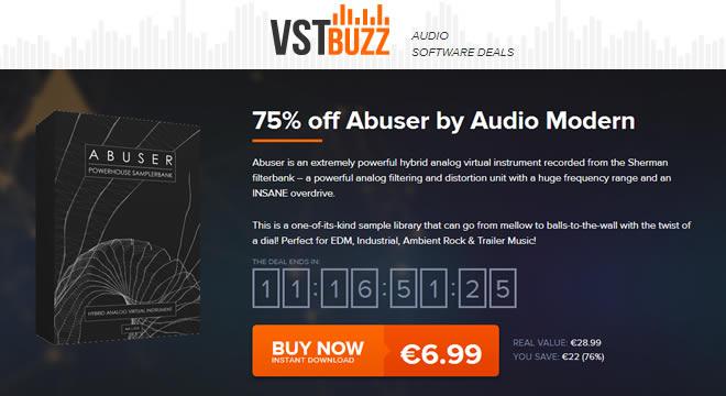 VST Buzz Abuser Kontakt Library