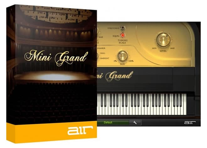 AIR Mini Grand Piano VST Plugin