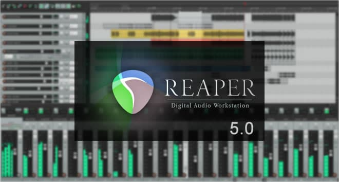 Reaper 5.0 Music Production Software