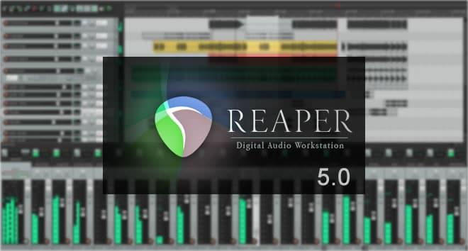 دانلود Cockos REAPER 5.0 x64/x86-ویرایش صوت و میکس
