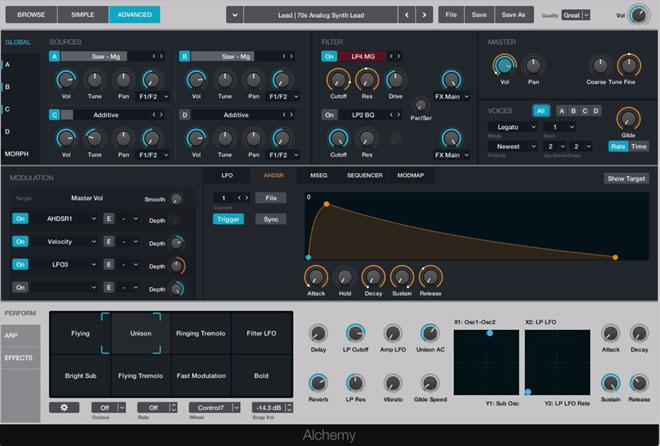 Logic Pro 10 Alchmey Synth