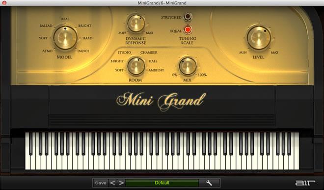 Mini Grand Piano Virtual Instrument