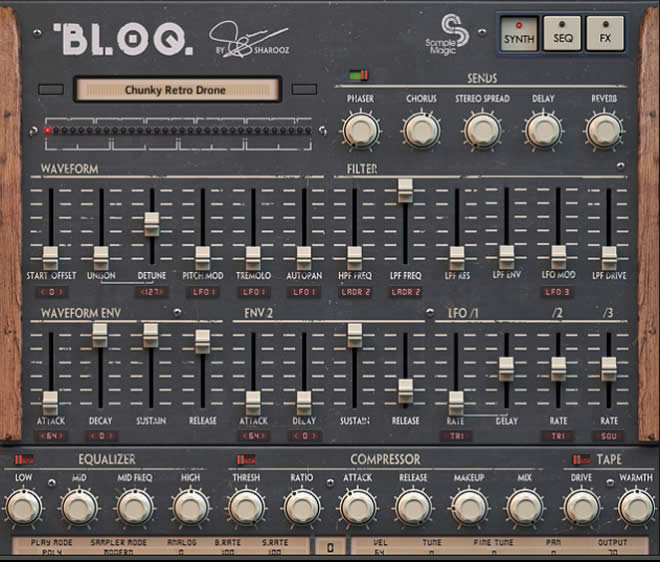 BLOQ Kontakt Virtual Instrument