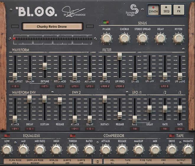 BLOQ Kontakt Vintage Drum Machine