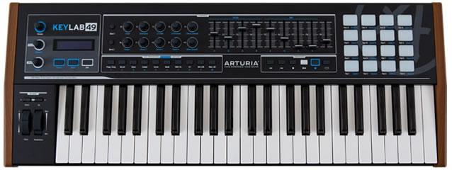Review Arturia KeyLab 49 Black Edition