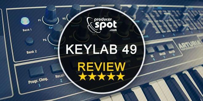 Review Arturia KeyLab 49 Black