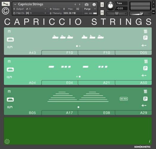 Capriccio Strings Virtual Instrument
