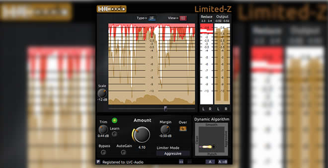 Limited-Z FREE Limiter VST/AU Plugin by LVC-Audio
