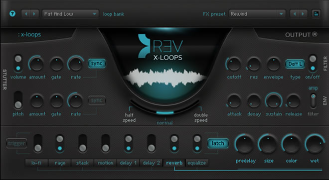 Rev X-Loops Virtual Instrument by Output