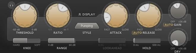 FabFilter Pro-C 2 Kick Snares Compressor