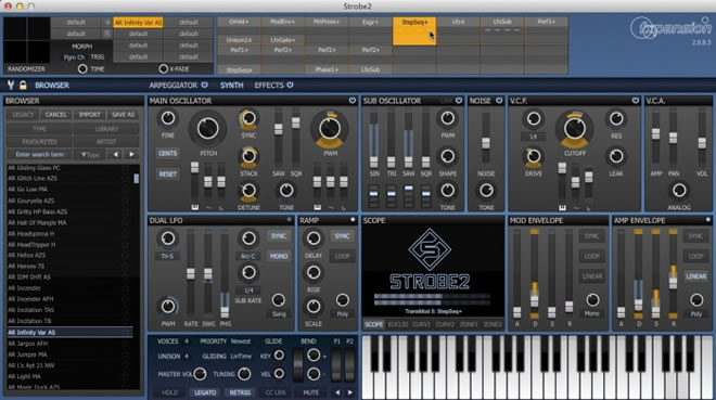 Strobe2 Synth Plugin