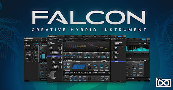 falcon hybrid synth instrument released by uvi. Black Bedroom Furniture Sets. Home Design Ideas