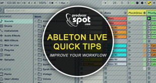 Ableton Live Quick Workflow Tips