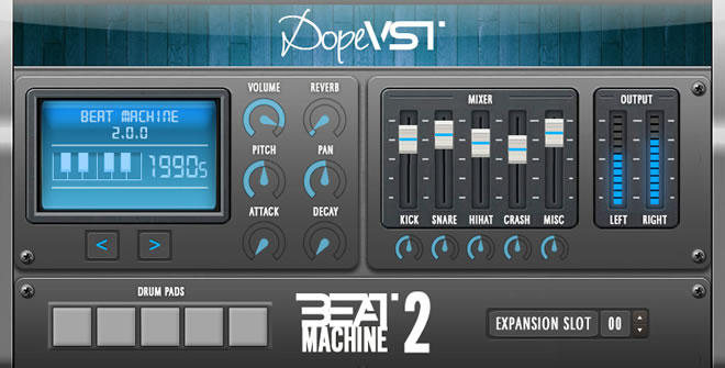 best vst drum machine 2015