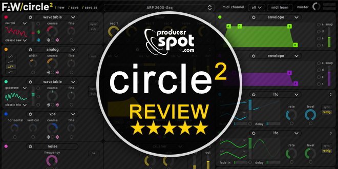 Circle2 Synth Plugin Review