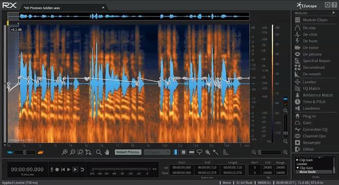 iZotope RX 5 Audio Editor Repair Software