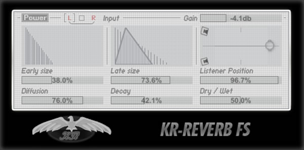 KR-Reverb FS Free VST Plugin