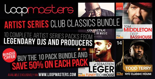 Loopmasters Club Classics - Artists Series Bundle