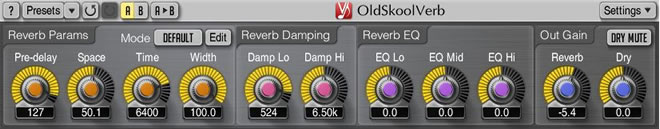 OldSkoolVerb Best Free Plugin