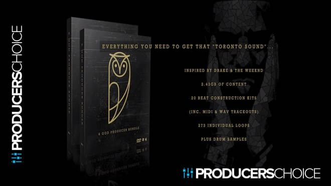 Ovo Sound Drum Kits 6 Producer Bundle