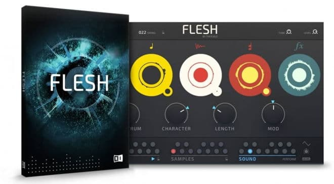 Flesh NI Reaktor Instrument