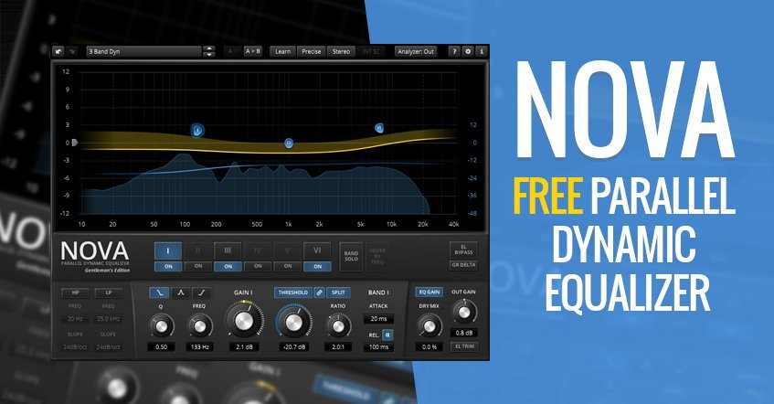 NOVA Free Parallel EQ VST Plugin