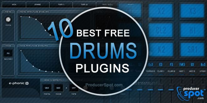 Best Free Drum VST Virtual Instruments