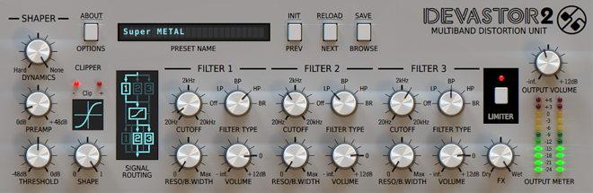Devastor 2 User Interface