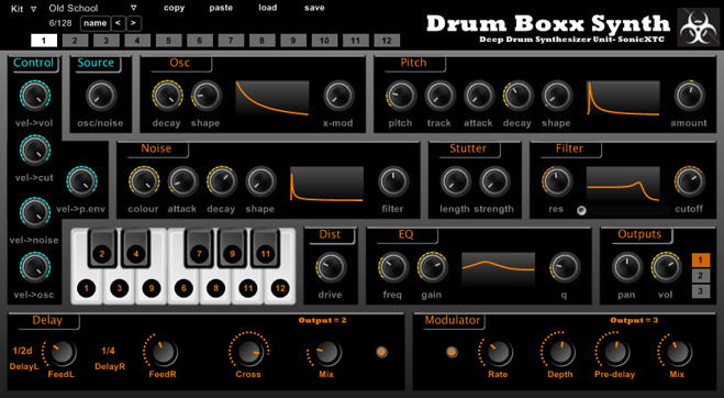 Drum Boxx Free VST Synth