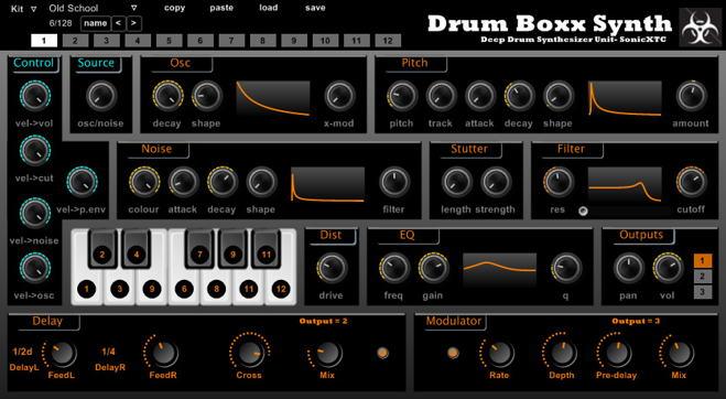 Drum Boxx Free VST Synth