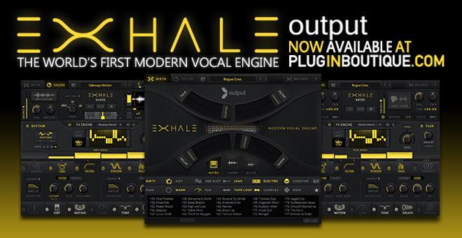exhale modern vocal engine plugin by output. Black Bedroom Furniture Sets. Home Design Ideas