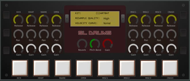 SL Drums 2 Free Drum VST