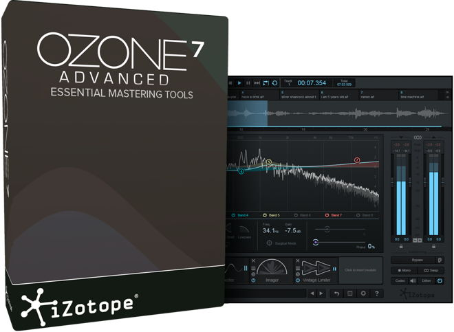 Ozone 7 Mastering Software