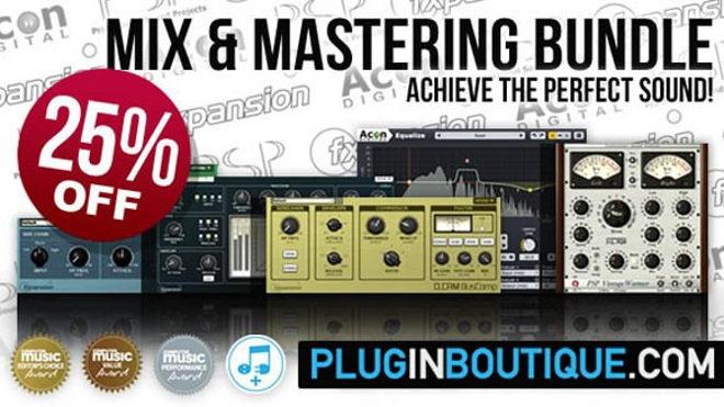 Mixing & Mastering Plugin Bundle by Plugin Boutique