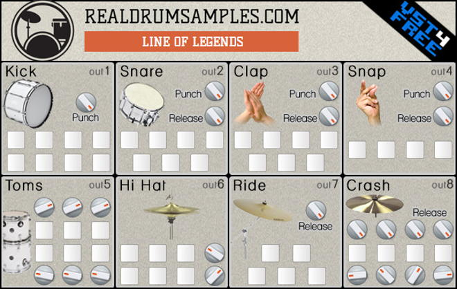 Line of Legends by Real Drum Samples