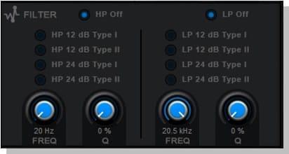 RP-EQ Filter Module