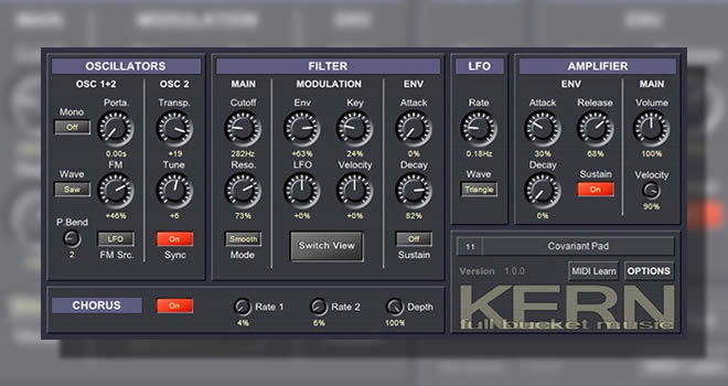 Kern Free VST Synthesizer