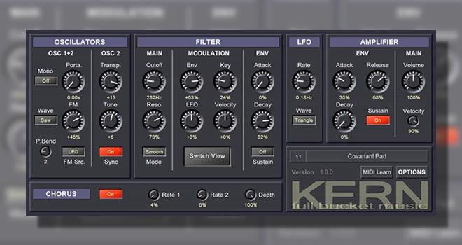 Kern Free VST Synthesizer