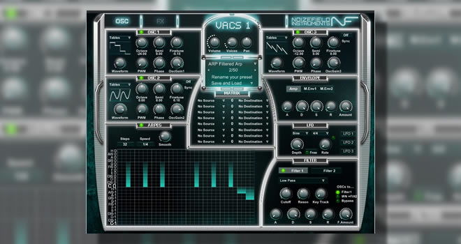 VACS Free Synthesizer VSTi Plugin