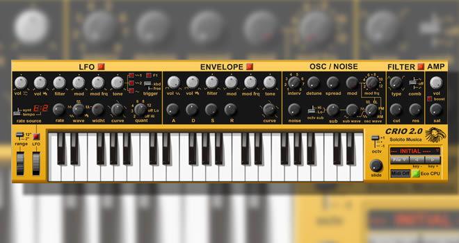 Crio 2.0 Free Virtual Synthesizer VSTi Plugin