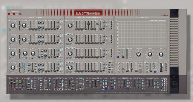 8-Bit Monster Free Synthesizer VSTi Plugin