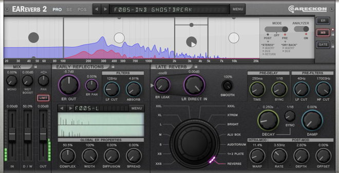 EAReverb 2 Reverb Plugin