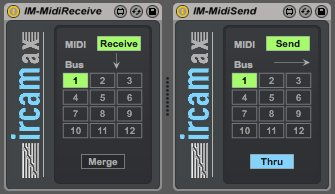 IM-Midi Send/Receive