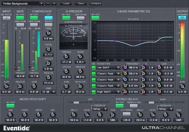 UltraChannel User Interface