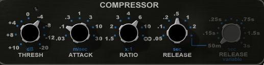 Kick Drum Audio Compression
